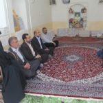 دیدار نماینده آستان قدس با خانواده شهید طالبی شورکی