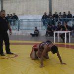 مسابقات انتخابی کشتی نوجوانان یزد در میبد پایان یافت
