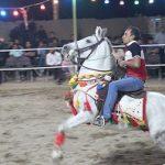مسابقه سوارکاری در میبد برگزار شد