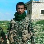 وداع با پیکر شهید مدافع حرم در میبد