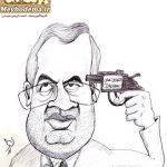 روایت کاریکاتوریست میبدی از شلیک دوم به مغز اصلاحات!