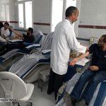 اهدای خون دانشجویان دانشکده علوم قرآنی میبد در ایام شهادت حضرت رقیه(س)