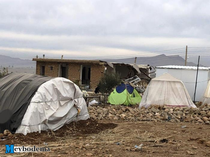 """گزارشی از روستای زلزله زده """"کوئیک حسن""""/ تصاویر"""