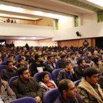 گزارش تصویری از یادواره شهدای لاله های آسمانی در دانشکده علوم قرآنی میبد