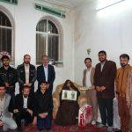 تصاویر/ دیدار با خانواده شهید میبدی حمله به ایرباس