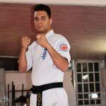جوان رزمی کار میبدی، قهرمان کیوکوشین کاراته UFK کشور شد