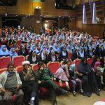 تصاویر تکریم مادران شهدا توسط مدارس دخترانه نور
