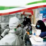 درخواست بسیج خواهران از بانوان میبدی جهت همکاری برای دوخت صد هزار ماسک قابل شستشو + پوستر