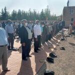 گزارش تصویری از اقامه نماز عید فطر در ندوشن