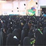 همایش شیرخوارگان حسینی در میبد برگزار شد